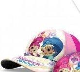 Czapka z daszkiem Shimmer i Shine  różowy Rozmiar: 52 cm