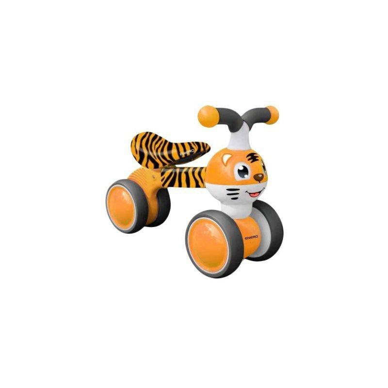 Rowerek biegowy jeździk pomarańczowy tygrys