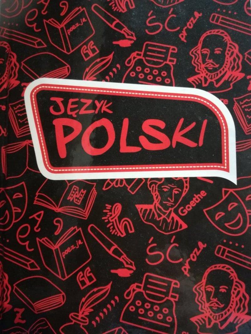 Zeszyt j.polski A5 80 linia oprawa twarda