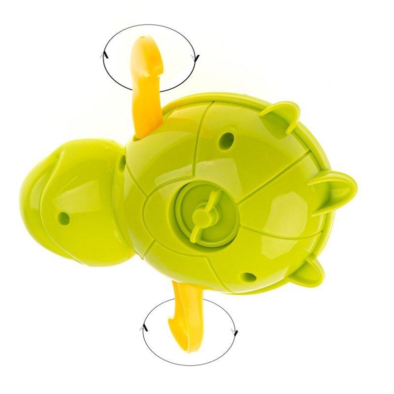 Zabawka-do-kąpieli-żółw-wodny-nakręcany-zielony-2