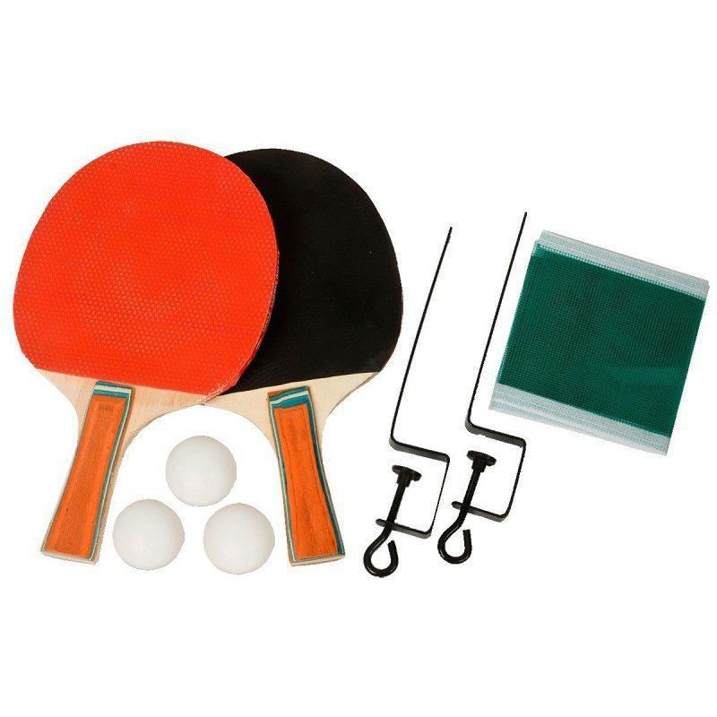 Zestaw-do-tenisa-stołowego-2-rakietki,-3-piłeczki+siatka