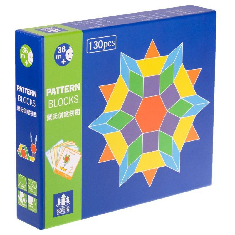 Puzzle-drewniane-układanka-Montessori-155-el.-klocki-1
