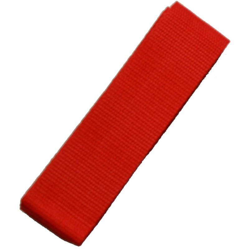 Szarfy gimnastyczne do zabaw szkolne 10 szt czerwona