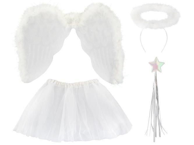 Kostium-strój-karnawałowy-Anioł-Aniołek