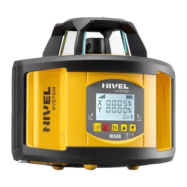 Nivel System NL540 Digital zestaw  z łatą i statywem korbowym