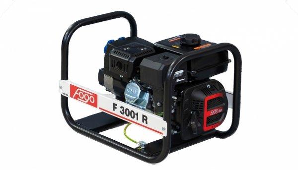 Agregat prądotwórczy jednofazowo FOGO F 3001 R