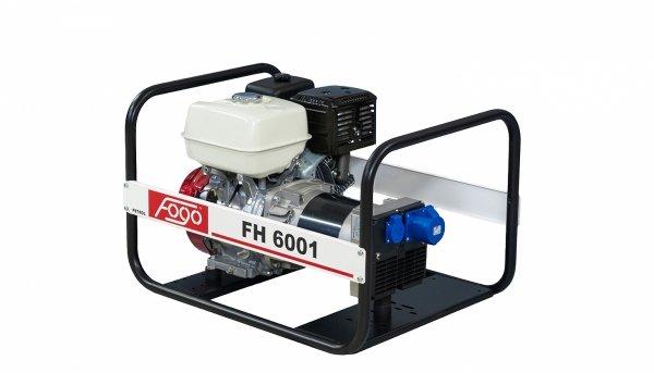 Agregat prądotwórczy jednofazowo FOGO FH 6001