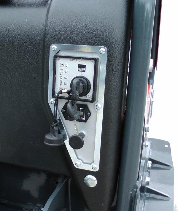 Zagęszczarka dwukierunkowa rewersyjna Altrad Belle RPX 59/65DE - rozruch elektryczny