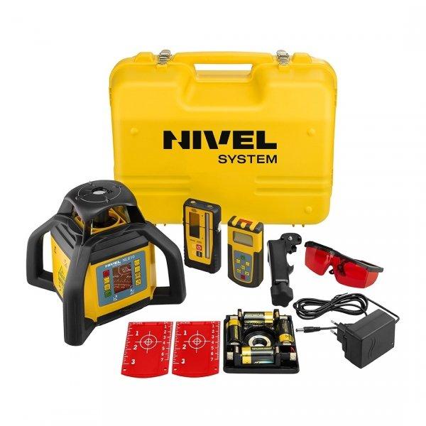 Nivel System NL610 Digital zestaw z łatą i statywem korbowym