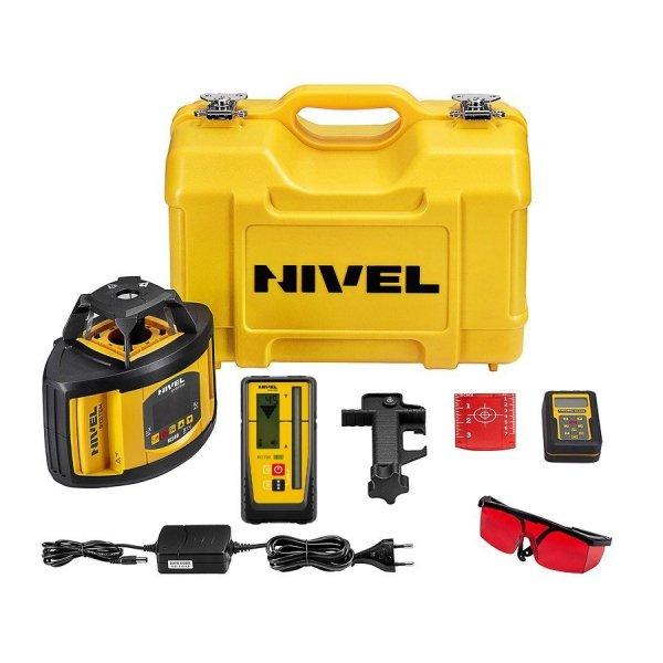 Nivel System NL540 Digital zestaw z łatą i statywem