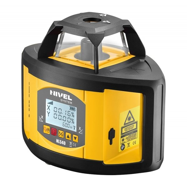 Nivel system NL540 Digital z laserowym systemem kontroli maszyn budowlanych
