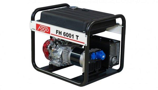 Agregat prądotwórczy jednofazowo FOGO FH 6001 T