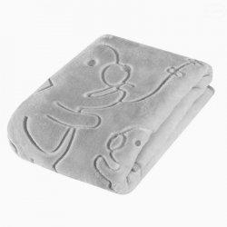 Easy care kocyk acryl 502 szar