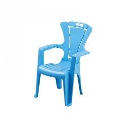 Krzesło dziec.antypoś.niebiesk