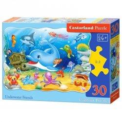 Puzzle 30el. underwater friend