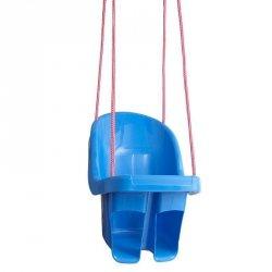 Huśtawka kubełkowa niebieski