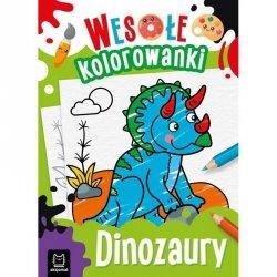 Dinozaury wesołe kolorowanki
