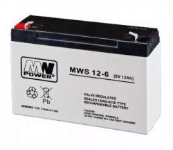 AKUMULATOR AGM -MWS-12AH-6V