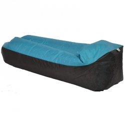 Lazy bag dmuchany leżak niebieski Royokamp