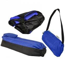 Lazy bag sofa dmuchana granatowa Royokamp