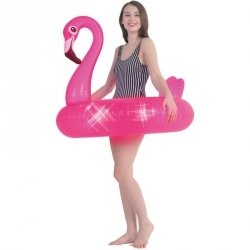 Koło dmuchane do pływania flaming 106cm 35033