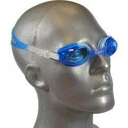Okularki pływackie + zatyczki Enero niebieskie