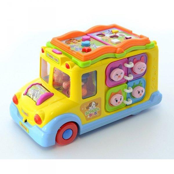 Zabawka edukacyjny autobus