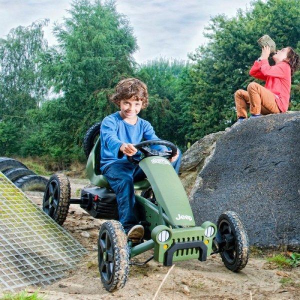 BERG Gokart Jeep Adventure BFR Pompowane Koła do 60 kg