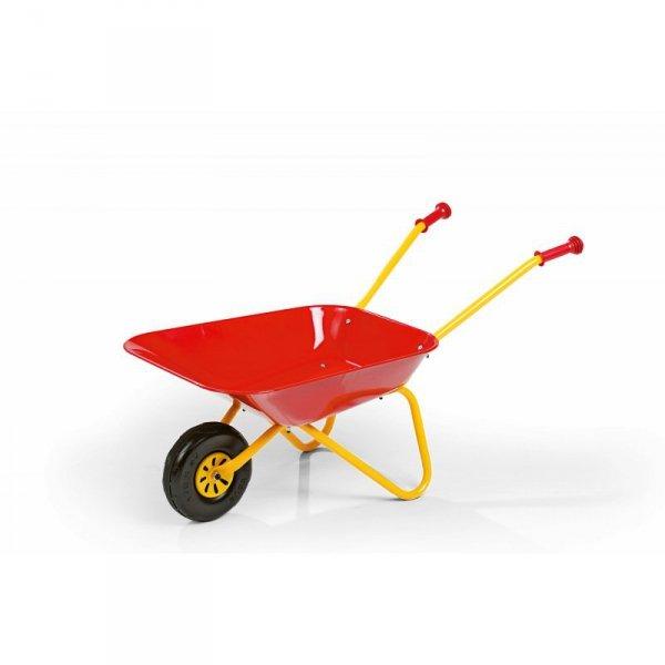 Taczka dla dzieci czerwona metalowa Rolly Toys