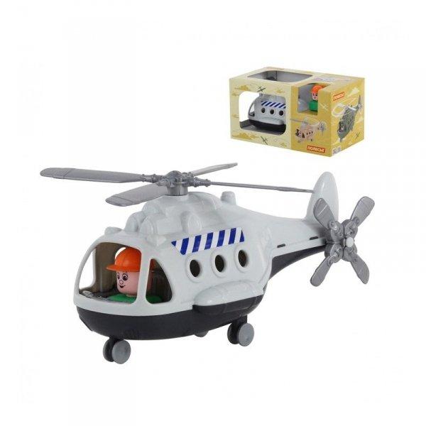 Wader QT Helikopter Towarowy Alfa + Figurka
