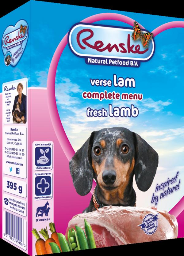 Renske Dog Adult fresh meat lamb – świeża jagnięcina dla psów 395g