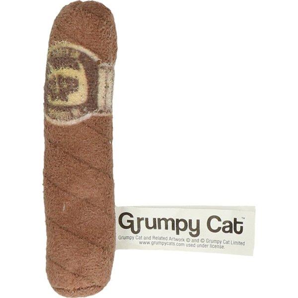 GRUMPY CAT Zabawka - cygaro z kocimiętką