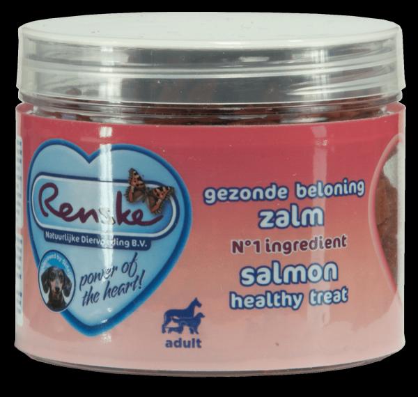 Renske Dog Healthy  Mini Treat Salmon – zdrowy mini przysmak dla psów - łosoś  100 g