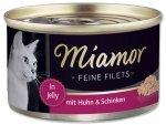 Miamor 74044 Feline Filets Kurczak + Szynka 100gr