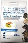 Tropidog 57115 Premium Adult M&L Salmon&Rice 2,5kg
