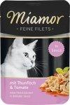 Miamor 74081 Filets Tuńczyk + Pomidory 100gr sasze