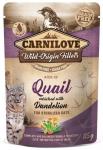 Carnilove Cat 8355 Pouch Sterilised Quail Dend 85g