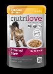 Nutrilove Cat 11456 saszetka 85g kurczak sos