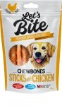 Brit Lets Bite Chewbones Sticks Chicken 300g