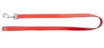 Soco Smycz SP25120 skóra prosta 25x120 czerwona