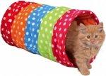 Trixie 4291 Tunel dla kota śr.25x50cm kolorowy