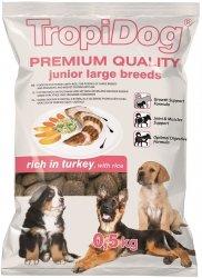 Tropidog 57233 Premium Junior L Turkey&Rice 500g