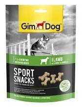 Gimdog 500126 Sport Snacks Mini Knochen 60gr Lamb