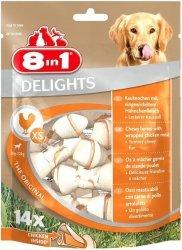 8in1 122364 Przysmak Delights Bones XS 14szt