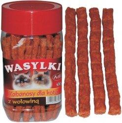 Adbi AM 52 Wasylki Kabanosy dla kota wołowina 450g