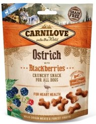 Carnilove Dog Snack 7274 Ostrich Blackberries 200g