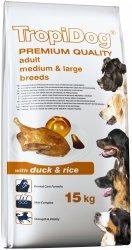 Tropidog 57018 Premium Adult M&L Duck&Rice 15kg