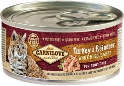 Carnilove Cat 9018 100g Adult Turkey Reindeer