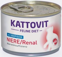 Kattovit 77049 Niere/Renal Ryba dieta 175g kot