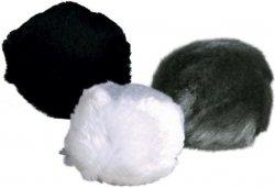 Trixie 4123 Piłki Futrzane z dzwonkiem 3cm - 1szt
